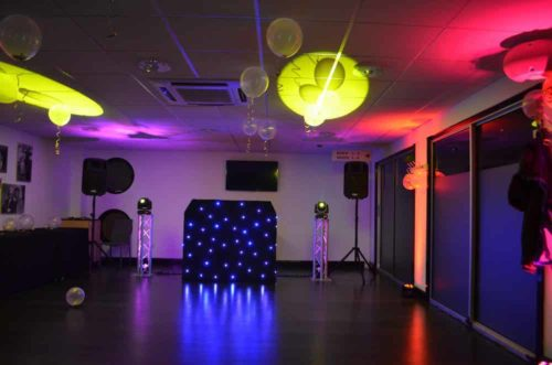 dj lights hire herts