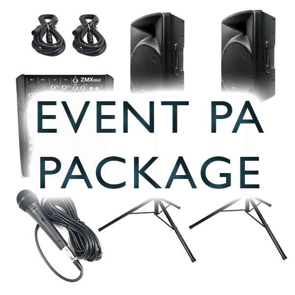 event pa hire watford