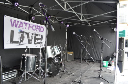 mic stand hire