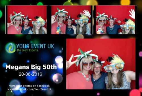party photoboot hire london