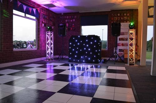 wedding dancefloor hire